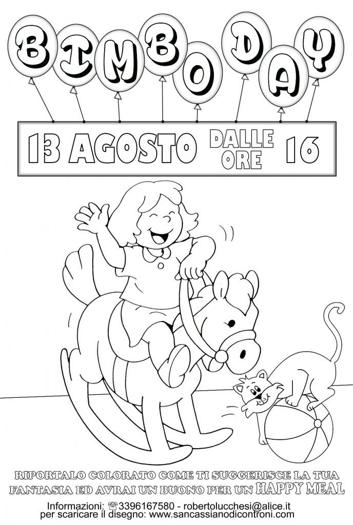 disegno bimbo day 2015